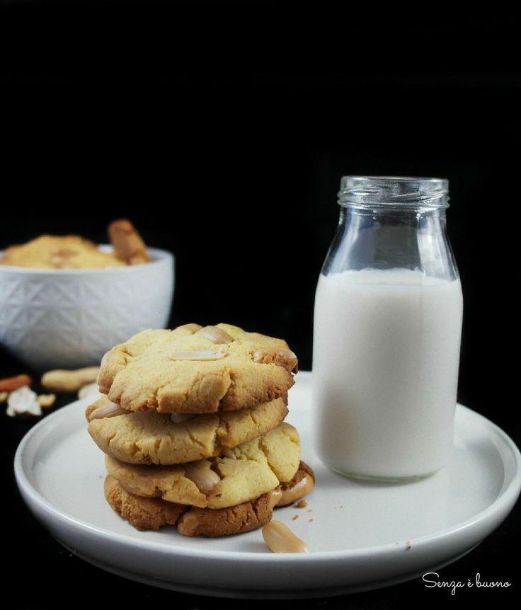 American cookies alle arachidi #senzaglutine #senzalatticini