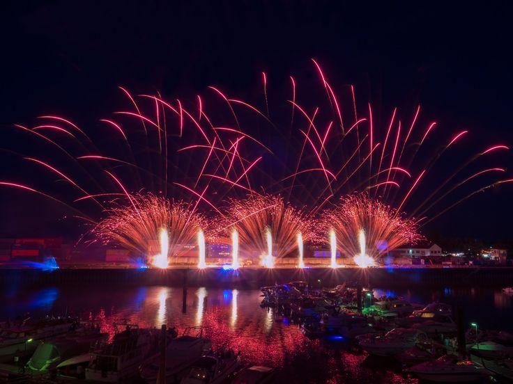 zündwerk - Rheinisches Fischerfest 2016, Gernsheim [Fireworks, Feuerwerk]