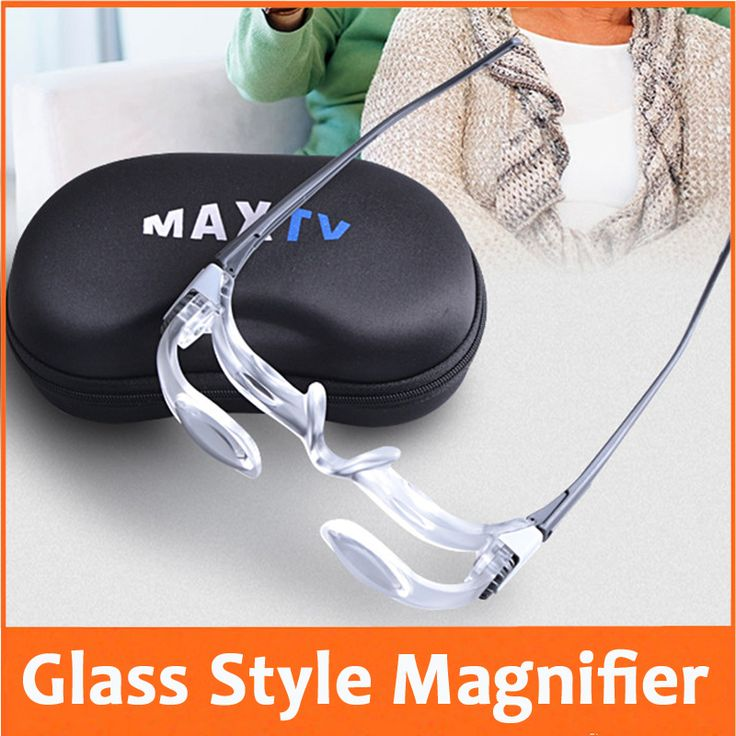 ==> [Free Shipping] Buy Best 2.1X Goggle Glass Style Reading Repair Magnifier Loupe Magnifying Glass for Old Man Watching TV Reading Newspaper Online with LOWEST Price | 32792604012