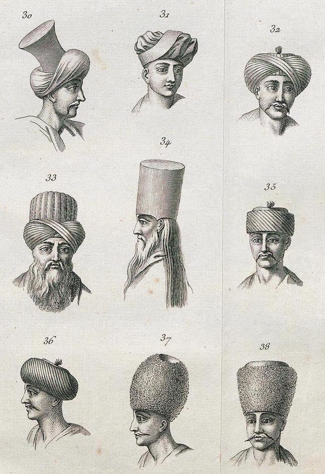 Osmanlı dönemi başlıklar, 1774.