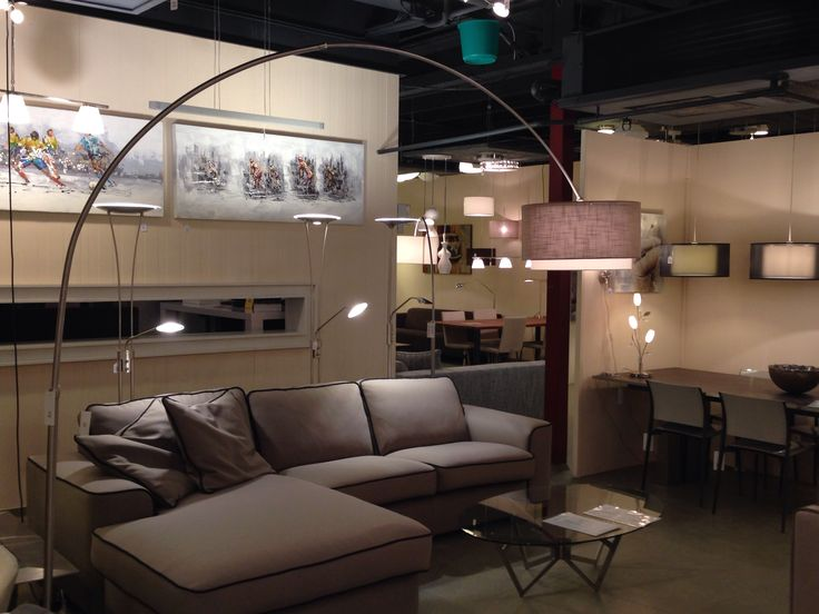 Showroom winkel : Modern landelijk wonen . Vloerlamp booglamp extra ...