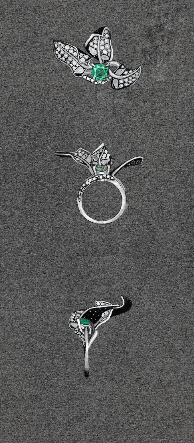 Fluorescent diamond jewellery designs on kickstarter http://kck.st/1DJTuUV