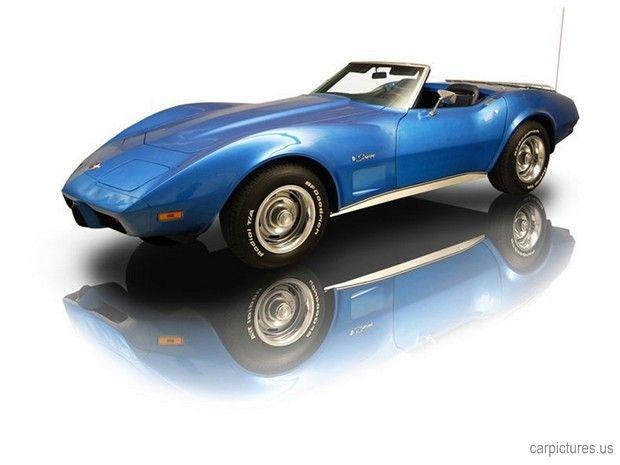 1975 Corvette Stingray Roadster