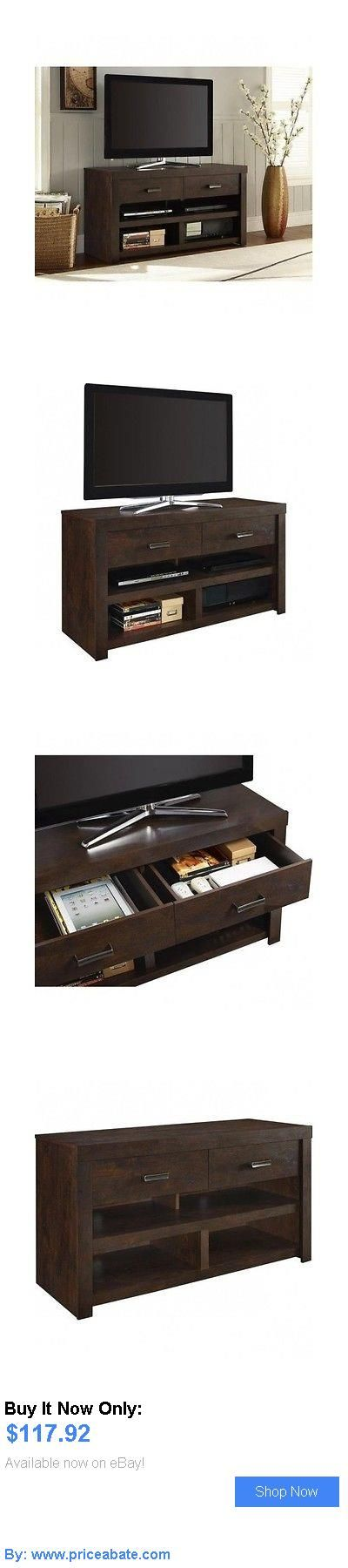 Entertainment Units, TV Stands: Tv Home Entertainment Center Modern Storage Stand Furniture Wood Cabinet Console BUY IT NOW ONLY: $117.92 #priceabateEntertainmentUnitsTVStands OR #priceabate