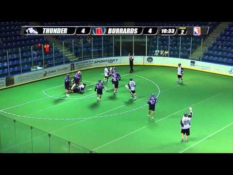 Langley Thunder Play of the Game vs. Maple Ridge Burrards 2012-7-25