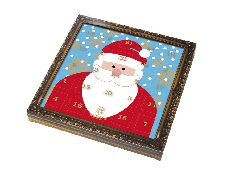 Beschles julkalender innehåller 12 olika krämiga och lyxiga praliner och chokladtryffel med smaker såsom pepparkakstryffel, fikonpralin, honungspralin och mjölkchokladpralin. Unna dig själv något extra denna julen! #Beschle #Beriksson #jul #choklad #adventskalender beriksson.net/webbutiken/produktlista/?m=beschle