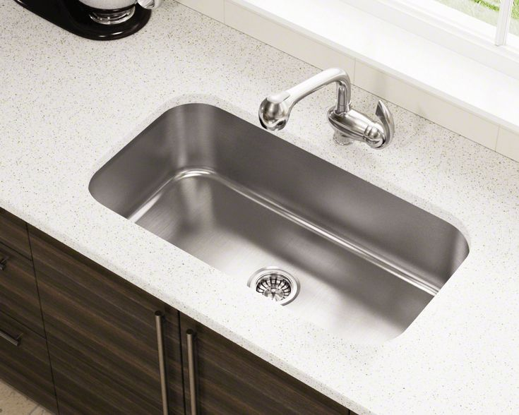 Stainless Steel Sinks on Pinterest Clean stainless sink, Undermount ...
