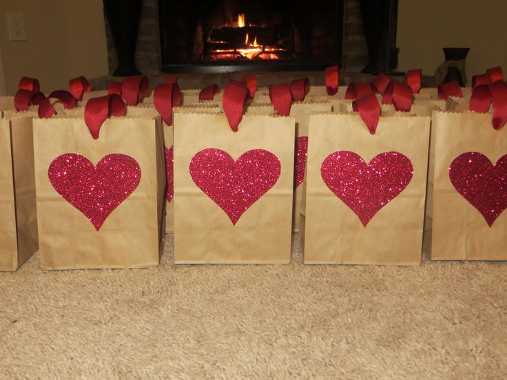 Easy (Non-Candy) Valentine Goody Bags