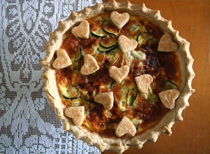 Summer Squash Quiche. Perfect for a spring brunch or lunch. Light, healthy, and delicious!