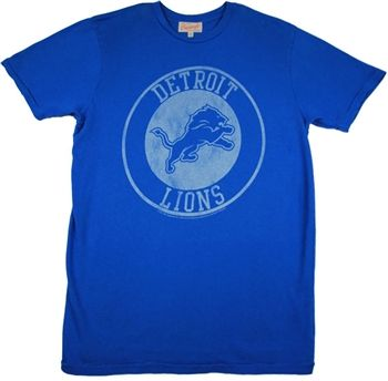 Detroit Lions Logo Shirt by Junk Food  This officially licensed NFL shirt by Junk Food features a vintage print of the Detroit Lions team logo.    Fabric Details        Color: Lions Blue      100% cotton    Our Price: $24.95  - See more at: http://www.oldschooltees.com/Detroit-Lions-Logo-Shirt-by-Junk-Food-p/nfl010.htm#sthash.XQvpQE1D.dpuf