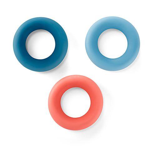 Posilovací kroužky na ruce, 3 ks