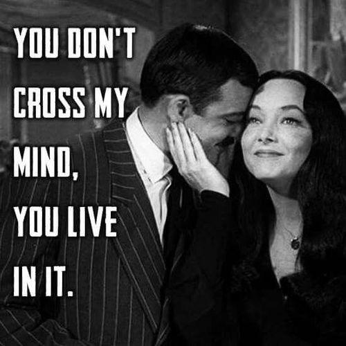 Morticia and Gomez