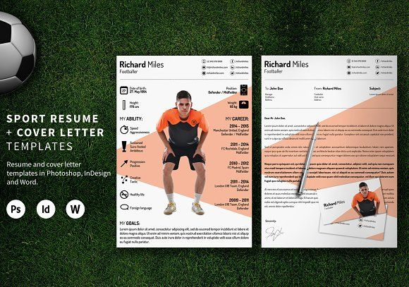 Sport Resume by kormoscsaba on @Graphicsauthor