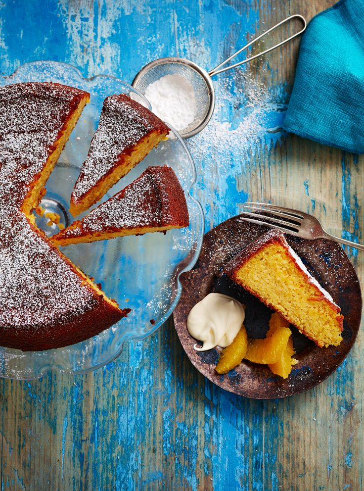 Gluten-free clementine and almond cake would make a great Christmas alternative for folks who don't like fruit cake.