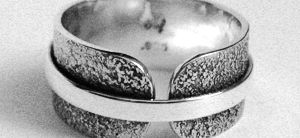 Bague fusion ceinturé unisexe  (SR-BA-13) Unisex fusion ring