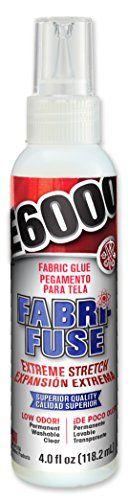 E6000 565004 Fabri-Fuse Adhesive - 4 fl oz Shelf Bottle E... amazon.com