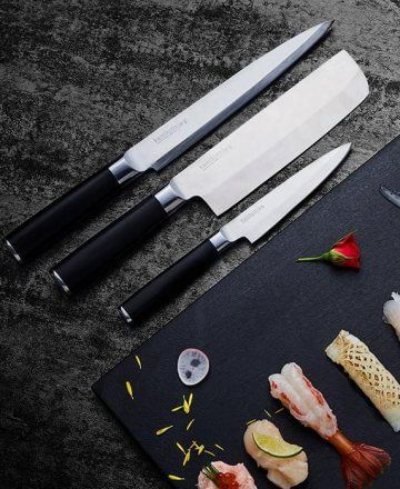 This is a review of the Japanese Kamikoto knives, including both PROs and CONs. We've been using the set of 3 Kamikoto knives (retail $1,295.00) for the past 3 weeks on a daily basis. Kamikoto Knives Review We've been testing many high-end kitchen knives this year (and last year, too). With a steady stream of new knives  . . .