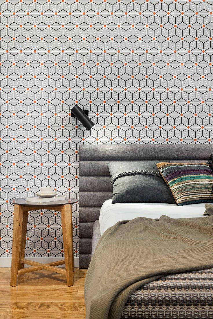 startling modern wallpaper designs. Geometric Patterns Look Fresh And Animate Your Home  Contemporary Apartment InteriorFabric WallpaperDesign 456 best Cover your Walls images on Pinterest Wall papers