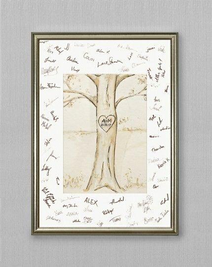 Baum-Zeichnung - weddingstyle.de