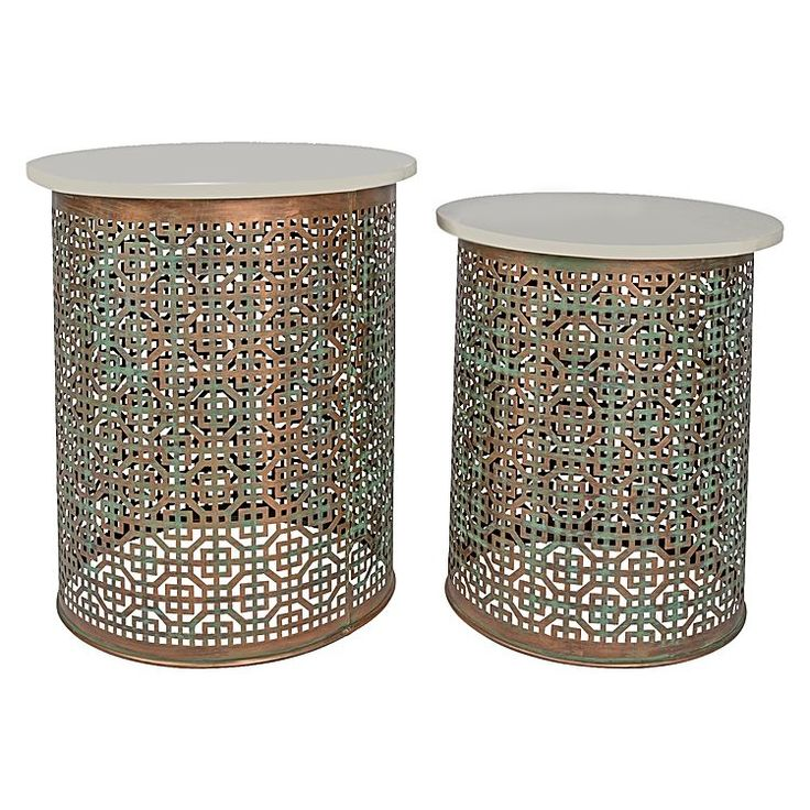 Laura Marble Side Table (Set of 2)