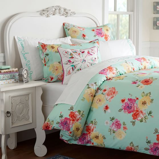 25 best ideas about floral bedding on pinterest floral comforter floral bedroom and floral - A nice bed and cover for teenage girls or room ...