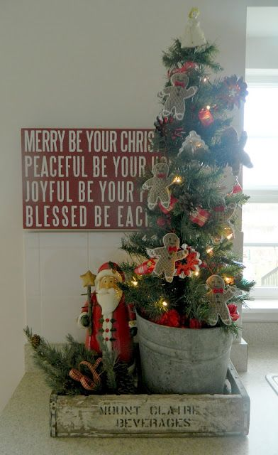 I love the Christmas tree I the old can | ... »