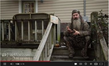 Phil Robertson of Duck Dynasty explains how he became a follower of