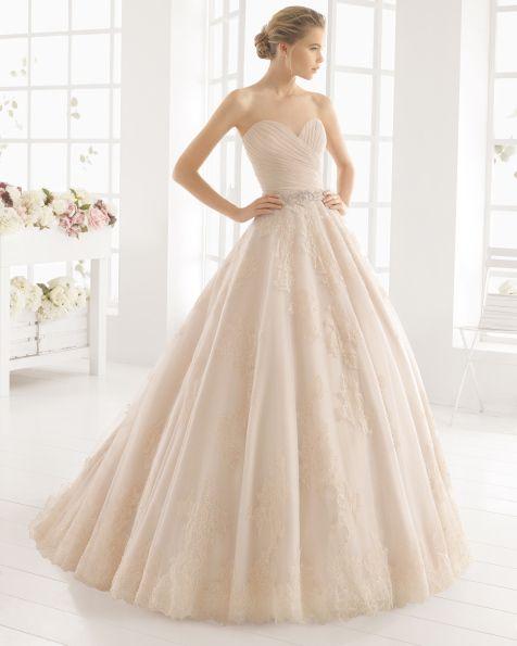 MONICA vestido de novia de Aire Barcelona 2016