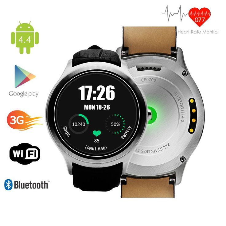 Indigi Android 4.4 SmartWatch 3G+WiFi Wrist Phone Bluetooth Google Play Store Unlocked! Smart Watches Unlocked Smartphone. 1st Waterproof Smartwatch on the market! 1.54-inches Android 4.4 OS 3G Smart Watch Phone Wrist Watch + GSM Wireless 3G SmartPhone (Call as mobile phone) with Google Play Store and Capacitive Multi-Touch Screen. GSM Mobile Cell Phone - Support 3G GSM QuadBand: GSM 850/900/1800/1900MHz WCDMA 850/2100MHz|Make and receive calls directly from the watch itself with the...