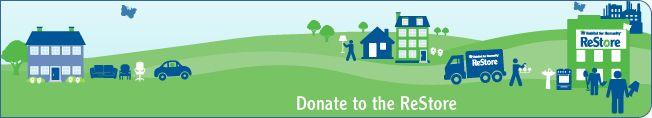 Habitat for Humanity ReStore Donate