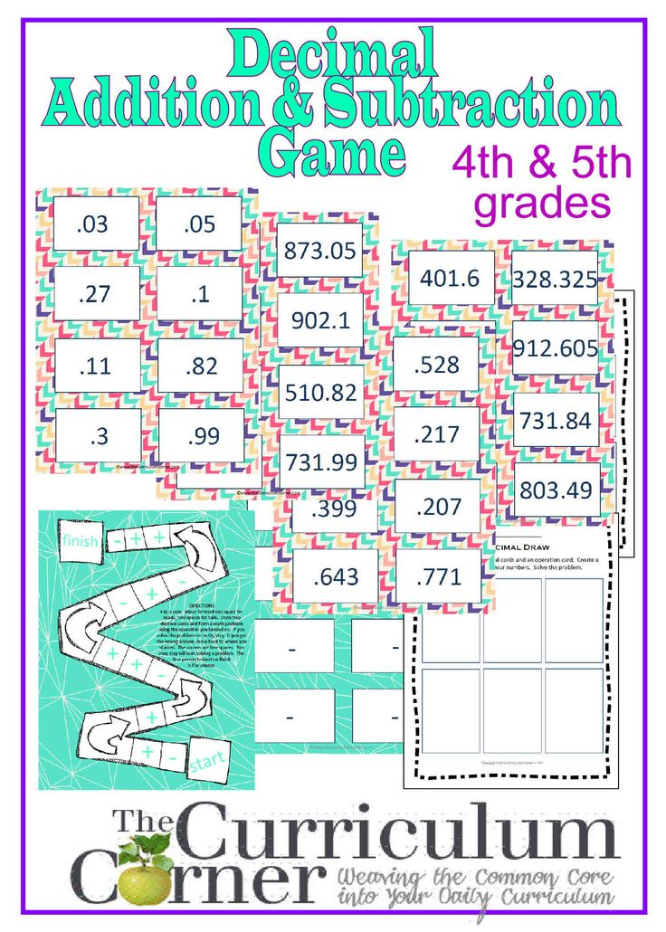 Best 25+ Adding decimals activity ideas on Pinterest | Adding ...