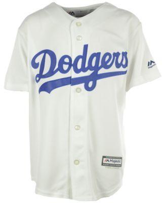 Majestic Boys' Hyun-Jin Ryu Los Angeles Dodgers Jersey - White L
