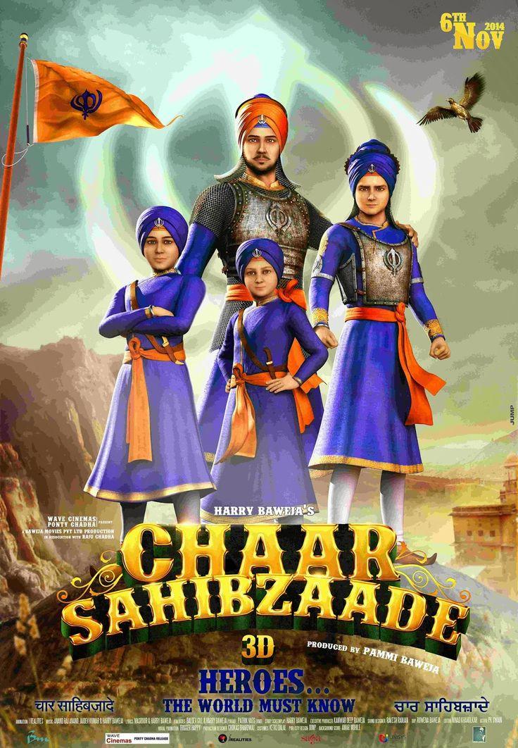 Watch Chaar Sahibzaade Online Free Putlocker:The sacrifices of the four sons of Guru Gobind Singh ji (tenth guru of Sikhs) - Baba Ajit Singh ji, Baba Jujhar Singh ji, Baba Zorawar Singh ji and Baba Fateh Singh ji.