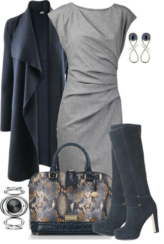 Schöne dezente Farbkombination: Rauchblau und Blaugrau (Farbpassnummer 3) Kerstin Tomancok / Farb-, Typ-, Stil & Imageberatung