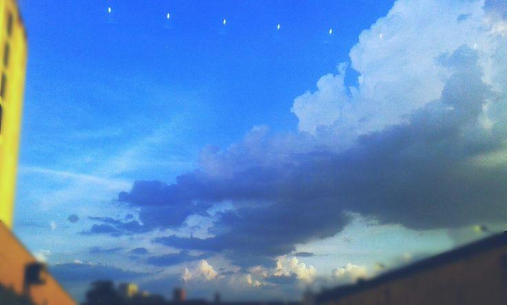 Céu de Santos-SP