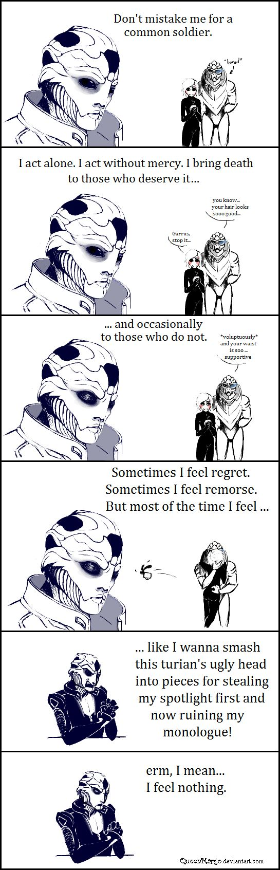 ME2: monologue by QueenMargo.deviantart.com on @deviantART... LOL!