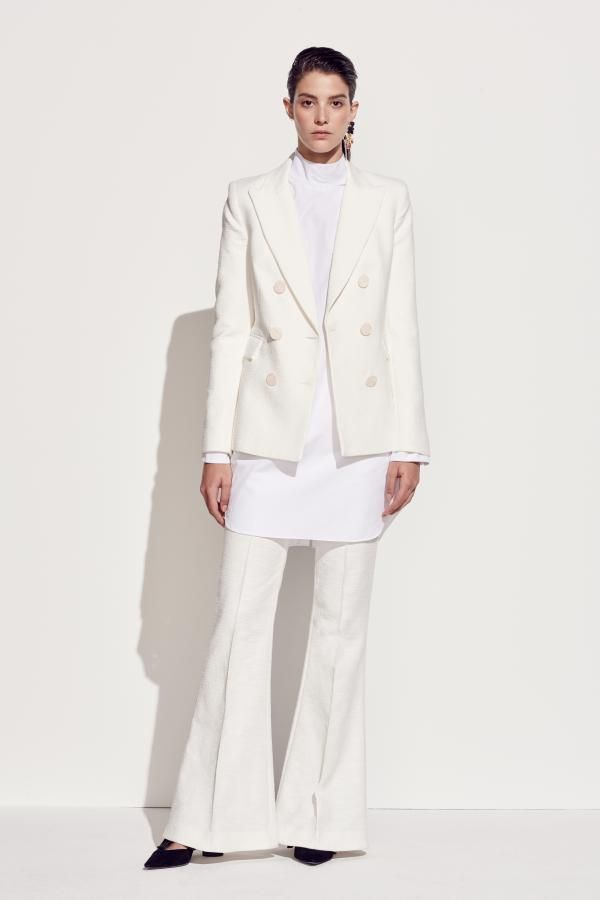 The Primula Blazer, Sedum Long Sleeve Shirt and Primula Pant by CAMILLA AND MARC from their Resort 2016 Collection.