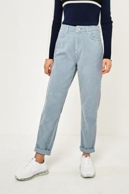 Shop BDG Mom Sky Blue Corduroy Jeans at Urban Outfitters today. We carry all the latest styles, colours and brands for you to choose from right here.