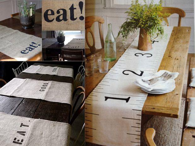I runner fai da te per la tavola - Rubriche - InfoArredo - Arredamento e Design per la tua casa