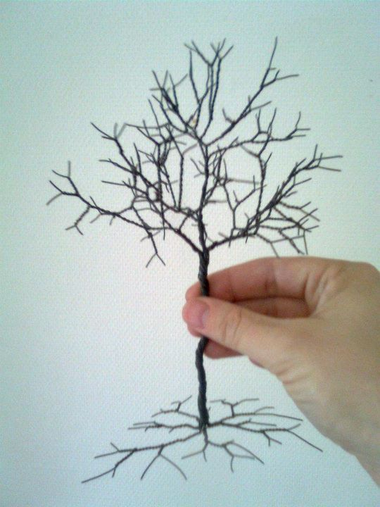 DIY - tree made with wire