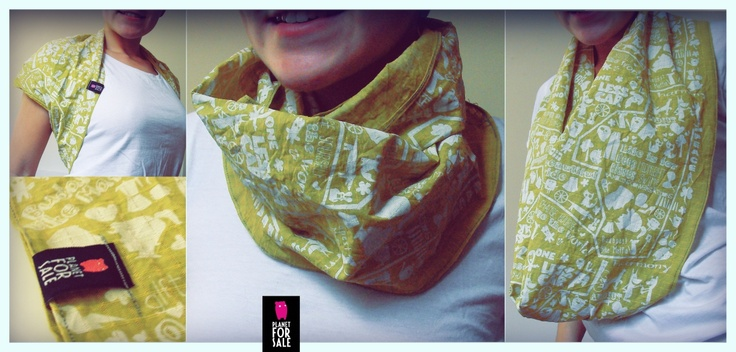 Spring Madness - infinity scarf