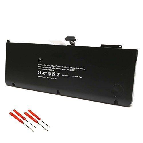 A1321 A1286 Battery for Apple MacBook Pro 15 inch (Only for 2009 2010 Version) Fits MB985 MB986J/A MC118 MB986 Series Notebook -Ankon #Battery #Apple #MacBook #inch #(Only #Version) #Fits #MBJ/A #Series #Notebook #Ankon