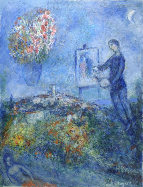 17 best images about marc chagall on pinterest oil on for Chagall peintre