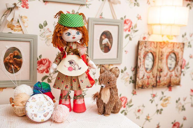 K1005 Needlewoman. Doll sewing kit KUKLA NOVA #nova_sloboda #sewing #handmade #doll #toy #kukla_nova