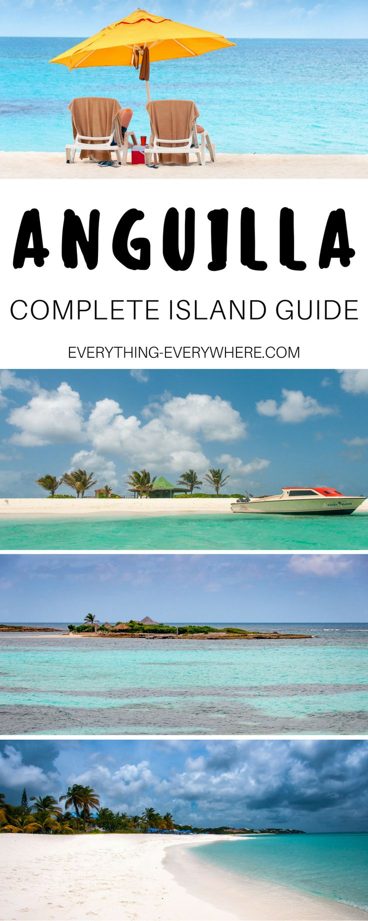 The ultimate guide to visiting Anguilla, a small island nation in the Caribbean. Things to do, best local food and cuisine, top beaches and dive sites + practical tips for your trip.   Everything Everywhere Travel Blog#Anguilla #Caribbean