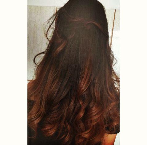 Hair style, cabelo, vermelho acobreado                                                                                                                                                      Más