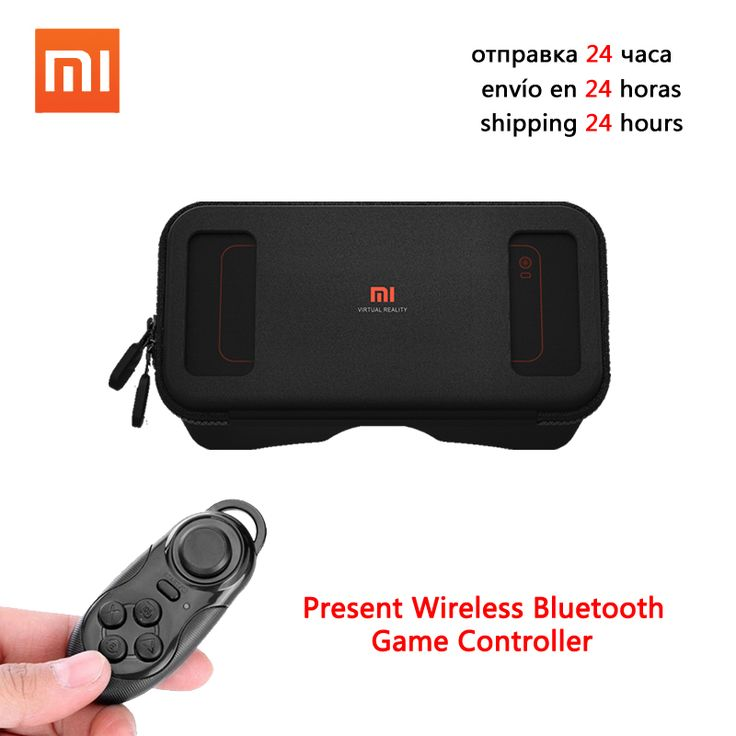 Xiaomi mi VR box 3D Virtual Reality Game Glasses Headset for apple iphone sumsang meizu 4-5.7'phone+Bluetooth Remote controller
