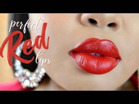8 How To Get The Perfect Red Lip My Fave Red Lippies Youtube