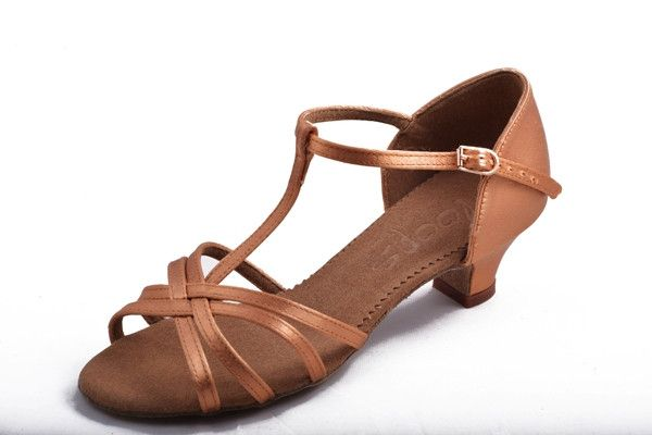 Loops of Dance 604 Tan Satin