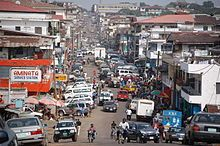 Liberia, Africa - My dad and I traveled here on a medical missions trip in 2004.  What a traveling adventure!